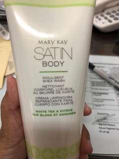 satin body shea wash