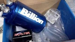 oil catch tank billions with mini filter big size for car universal