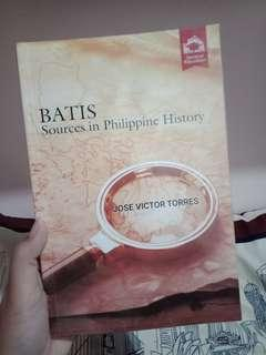 BATIS: Sources in Philippine History
