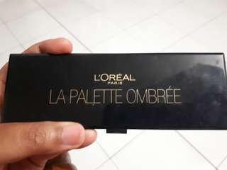 Eyeshadow 'LA PALETTE OMBREE' Loreal