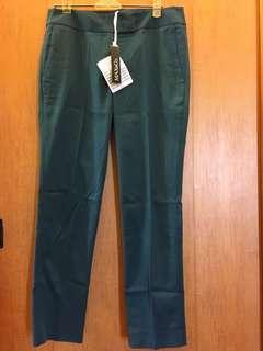 MAX&CO近孔雀綠長褲(送配套上衣)