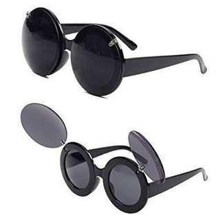 Retro Mickey Mouse Flip Up Sunglasses/Glasses #MauiPhoneX