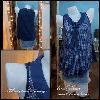 bench polka dots tank top