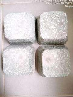 Stone X 4 Can used at Refrigerator Legs or Washing Machine ect