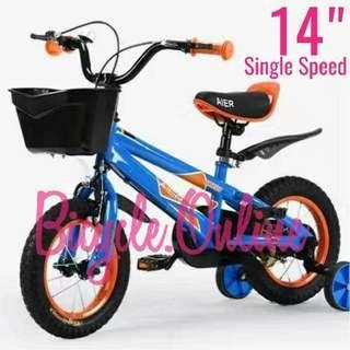 """14"""" Children / Kids Bike ☆ training wheels ☆ Brand new bicycle."""