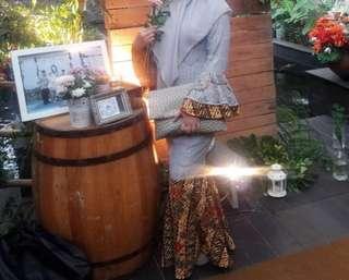 kebaya rok duyung utk hijabers