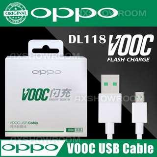 OPPO VOOC Genuine Authentic Micro USB 7 pin Flash Cable