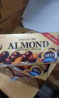 Lotte Almond Choco Ball