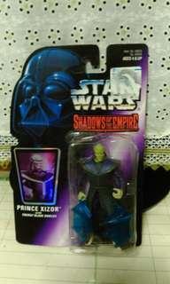 Vintage 1996 Star Wars Shadow of the Empire  Prince Xizor.