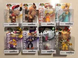 Amiibos - Assorted Super Mario Series