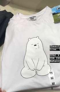 SPAO X We Bare Bear T shirt