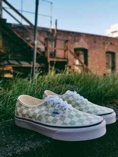 VANS Authentic Checkerboard Ambrosia Trainers
