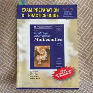 IGCSE Math (Exam preparation and practice guide)