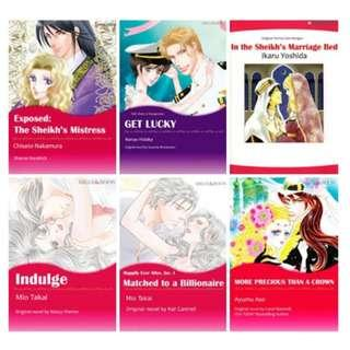 Paket Ebook Komik Harlequin English 38