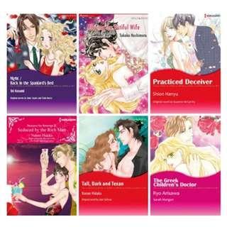 Paket Ebook Komik Harlequin English 39