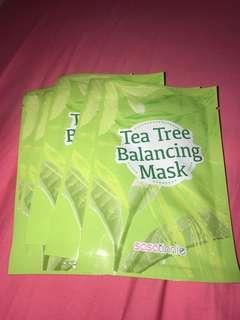 Tea Tree Face Mask (Quantity: 6)