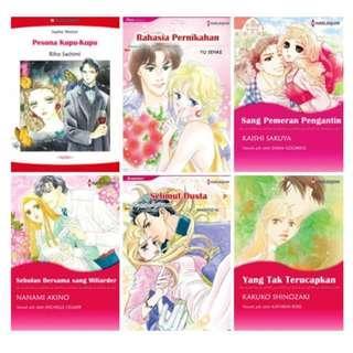 Paket Ebook Komik Harlequin Terjemahan 54
