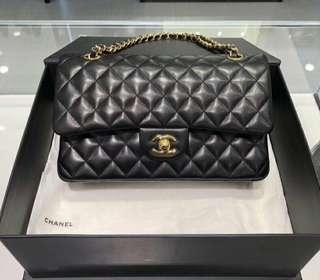 Authentic Chanel Lambskin Quilted Bag
