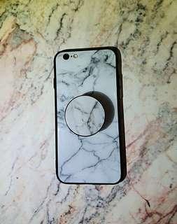 送6個手機殼‼️‼️玫瑰金 iphone 6s 近9成新美機