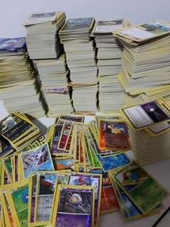 Pokemon bulk cards all english and authentic