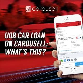 UOB Car Loan on Carousell: What's this?