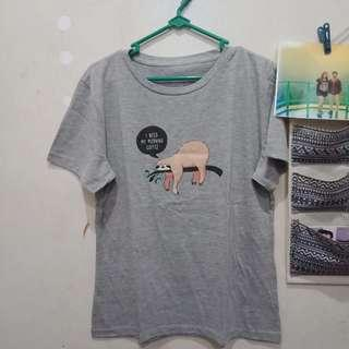 Grey Printed Tshirt by Colorbox