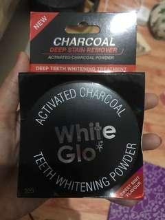 Ready lagi WHITE GLO CHARCOAL ORI AUSTRALIA