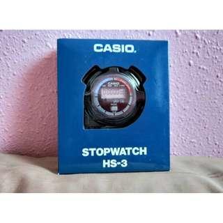 INSTOCK - Casio Stopwatch