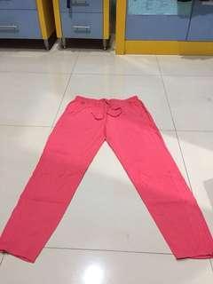 (FREEONGKIR) Mango Pink Trousers
