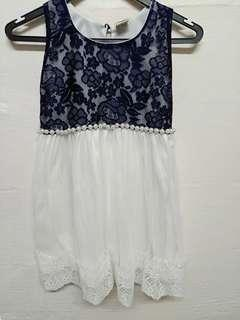 Lace Pearl Dress (For Kids)