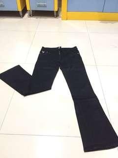(FREEONGKIR) Pull & Bear Black trousers