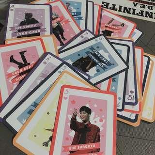 [new!] infinite sunggyu fansite pokercard set