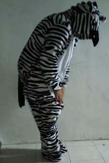 Costume zebra and girrafe