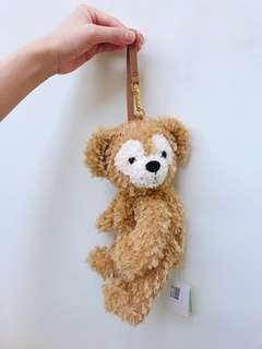🚚 Duffy 側身包包 達菲熊吊包 零錢包 吊飾