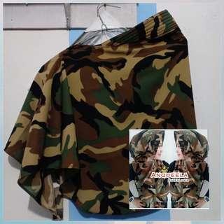 Hijab instan army hody