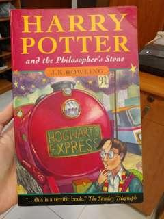 Harry Potter and the philosopber's stone