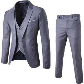 High Quality Leisure Suit A Three-piece Suit The Groom's