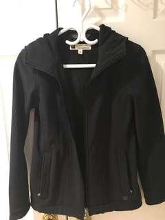 MEC rain jacket with fleece lining