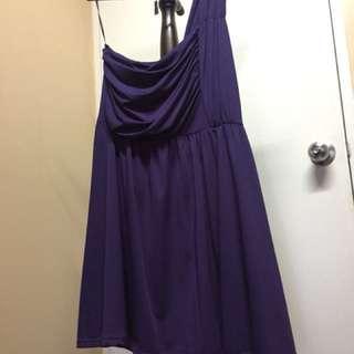 Purple Toga Dress