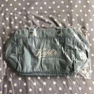 全新 Kiehl's牛仔布袋