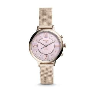 Fossil HYBRID SMARTWATCH - JACQUELINE PASTEL PINK STAINLESS STEEL