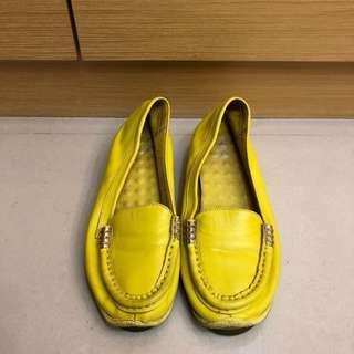 全牛皮平底鞋