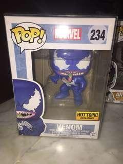 Funko Pop Blue Venom Hot Topic Exclusive