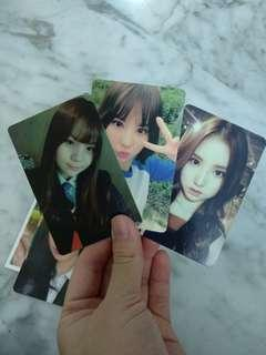 gfriend official photocards