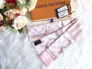 Louis Vuitton M70637 Monogram Confidential Bandeau-Light Pink