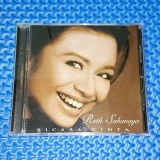 🆒 Ruth Sahanaya - Bicara Cinta [2003] Audio CD