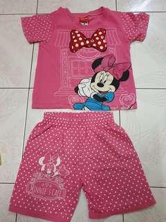 Disney Minnie Clothing Set (Blouse and Pant)