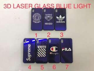 3D Laser Glass Blue Light Case