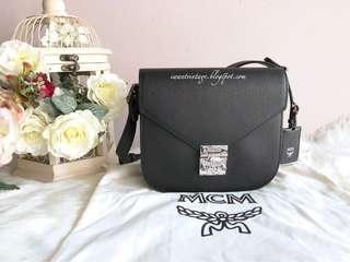 MCM Patricia Shoulder Bag-Black