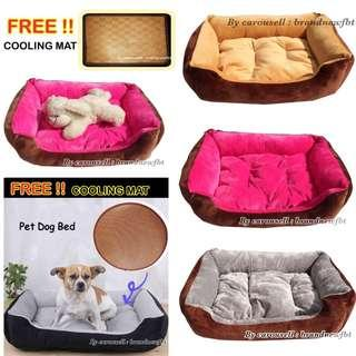 Dog Bed cat bed pet bed free cooling mat